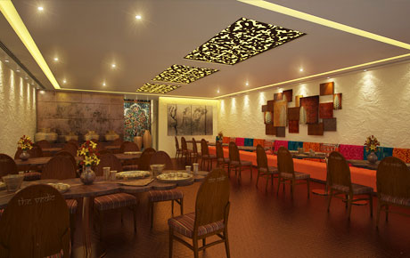The Vedic-was a really an exciting project to do with diffrent materials and a all together indian theme to it.